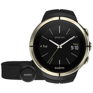 Chytré vodotěsné hodinky Suunto Spartan Ultra Gold Special Edition HR