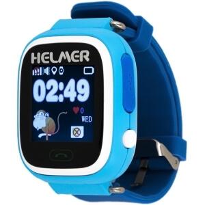 Dětské chytré dotykové hodinky s GPS lokátorem Helmer LK 703 modré