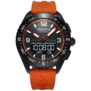 Outdoorové hodinky Alpina AlpinerX Horological Smartwatch AL-283LBO5AQ6
