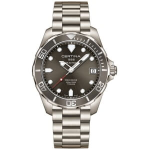 Titanové hodinky Certina AQUA COLLECTION - DS ACTION Gent - Quartz C032.410.44.081.00