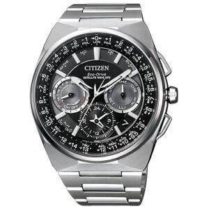 Pánské titanové hodinky Eco-Drive Satellite Wave GPS Super Titanium CC9008-84E
